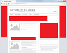 Homepage Take over - Adverteren bij Eisma