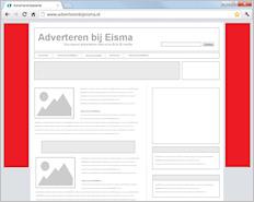 Wall paper - Adverteren bij Eisma