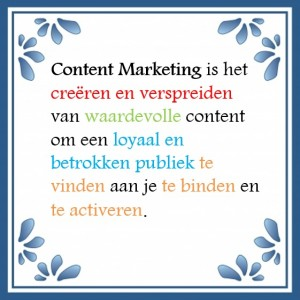 Content Marketing definitie